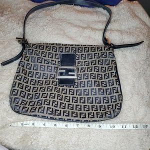 Authentic Vintage Fendi Zucca bag!!!